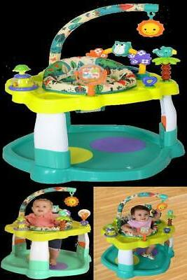 baby bouncer activity center jumper with 360