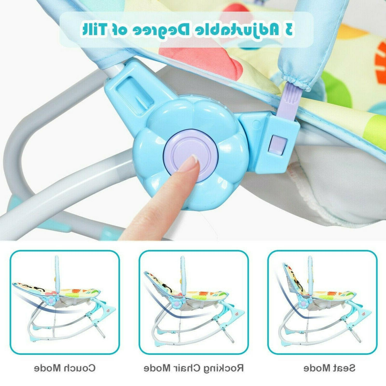 Baby Massager Rocking Chair Adjustable Foldable