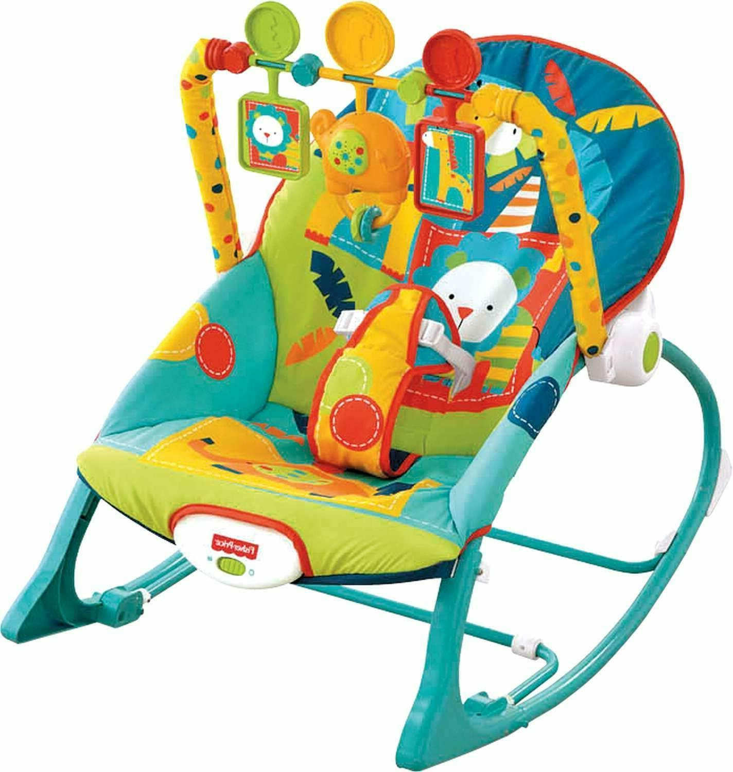 Infant Baby Toddler Rocker Mode Seat Bouncer Adjustable Chai