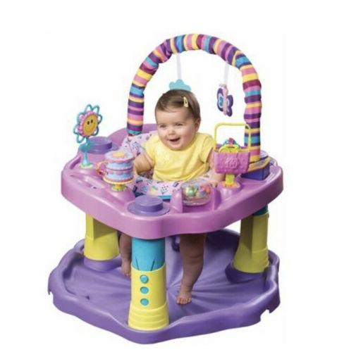 Evenflo Baby Bouncer Jumper Exersaucer Learning Activity Center Play Gym