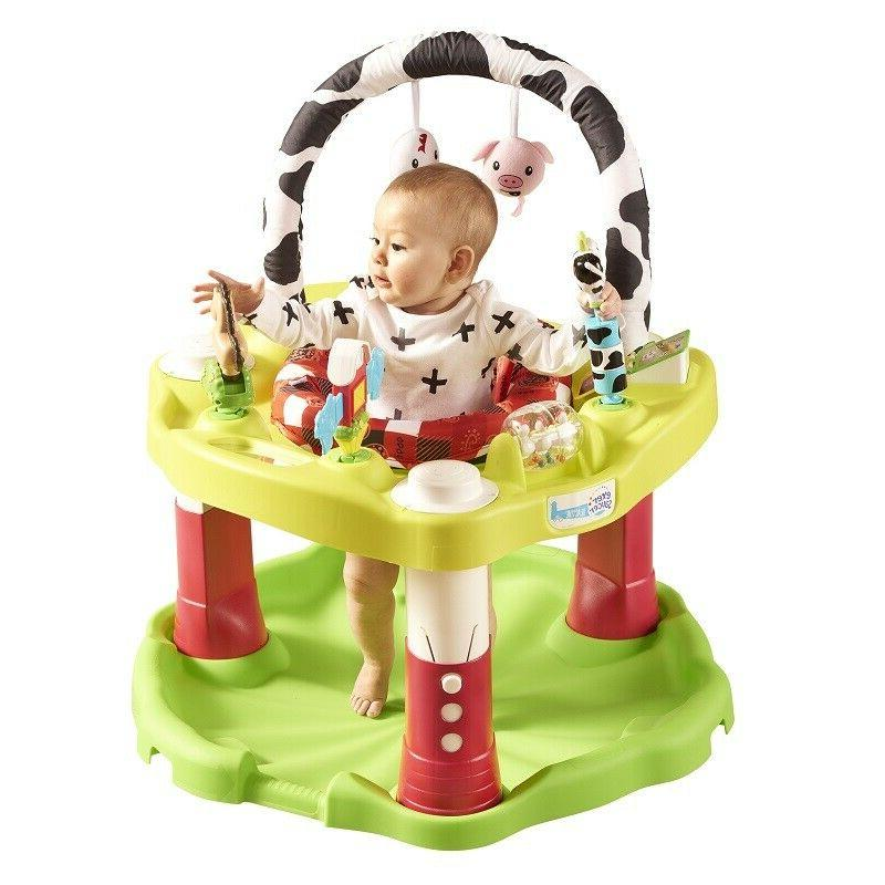 Baby Bouncer Saucer Exersaucer Infant Activity Center Jumping Chair