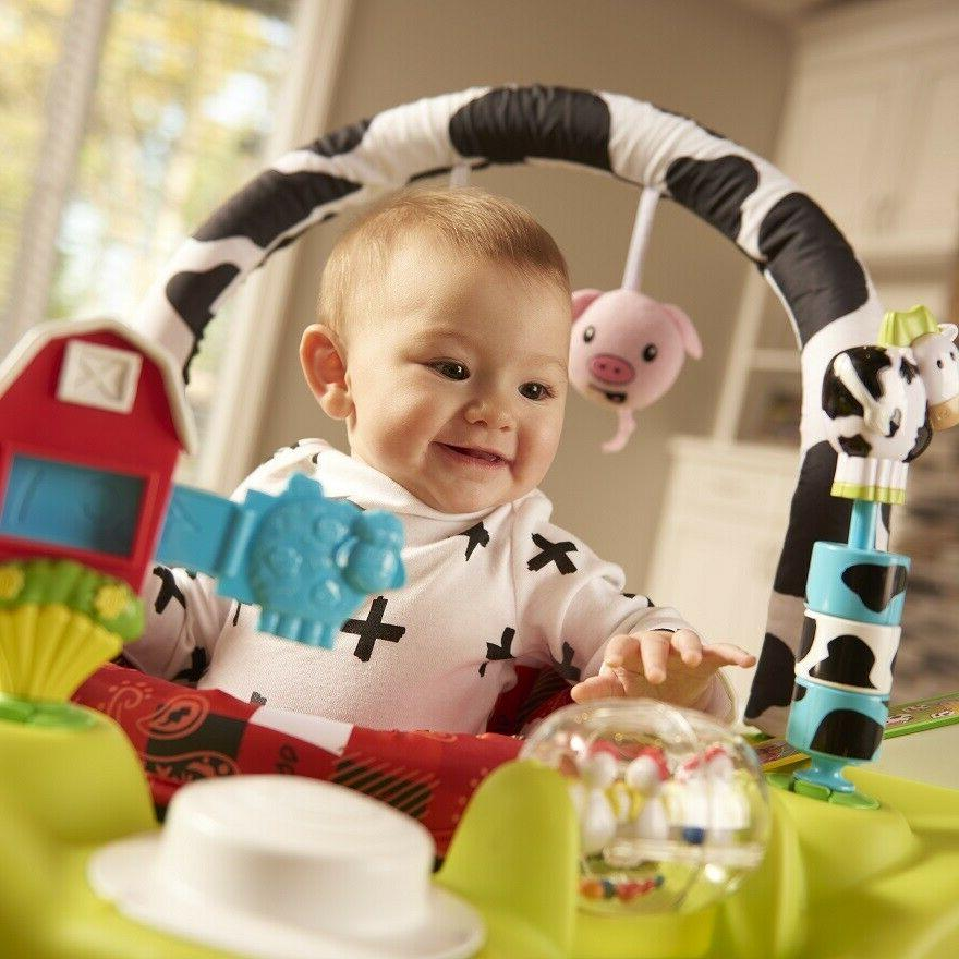 Baby Bouncer Saucer Infant Center Seat Jumping Chair
