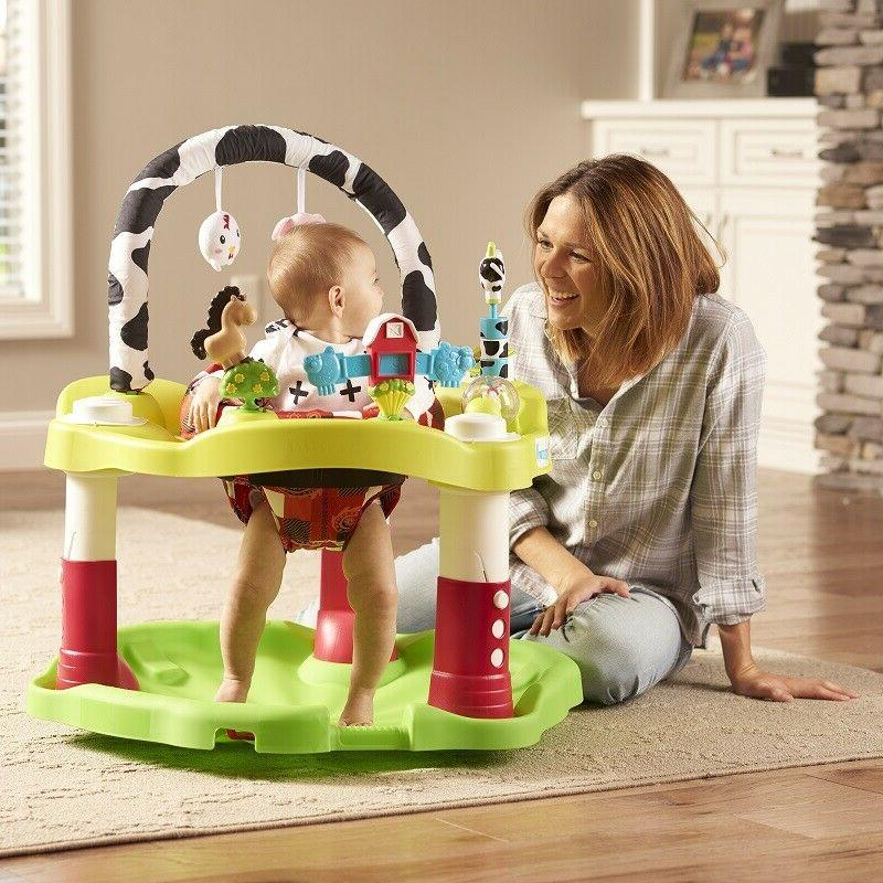 baby bouncer saucer exersaucer infant activity center