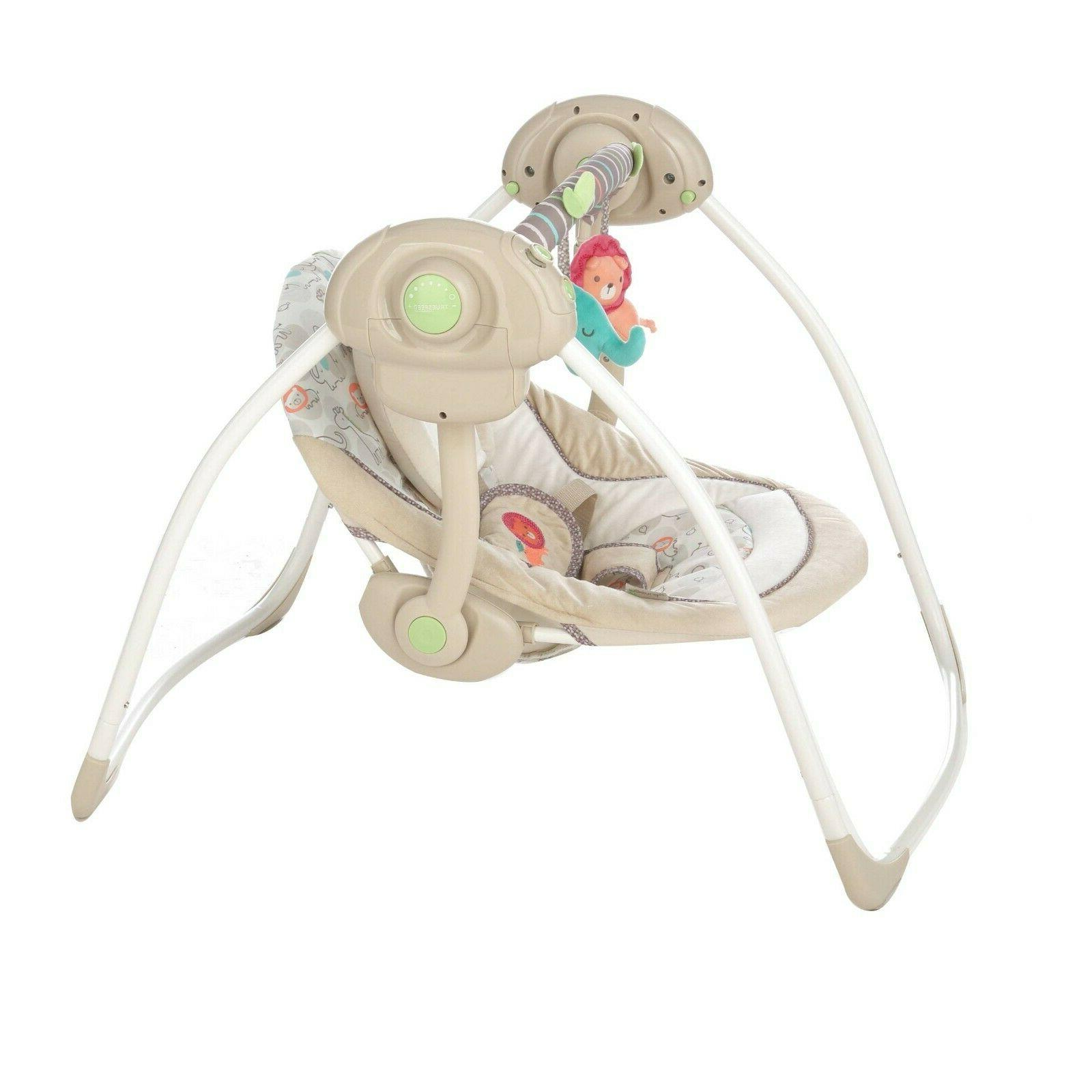 Baby Swing Rocker Portable Electric W/ Sounds