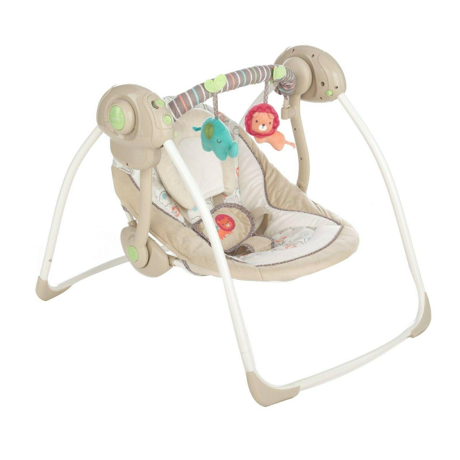 Baby Rocker Portable Sounds Infant Chair