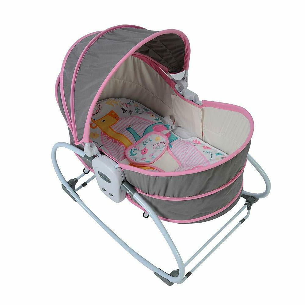 Baby Comfy Bouncer Infant Pink Easy Carry