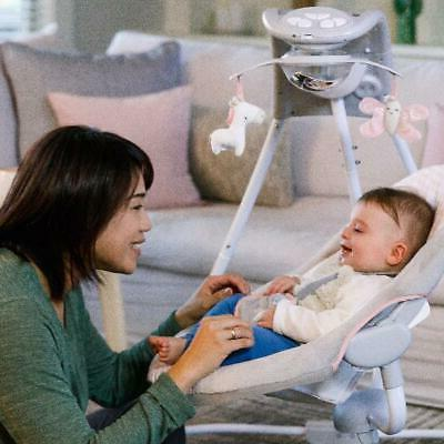 Baby Cradle Rocker Toddler Portable Bolster Bouncer