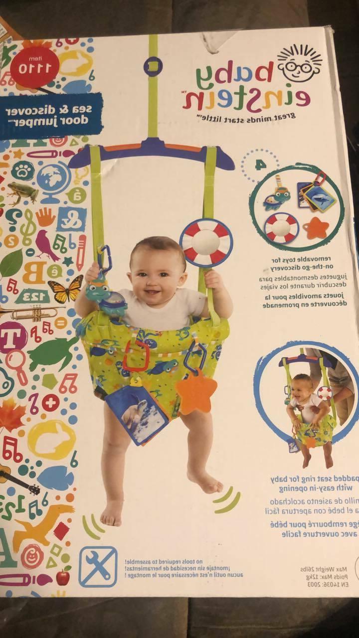 baby door jumper bouncer exersaucer doorway activity