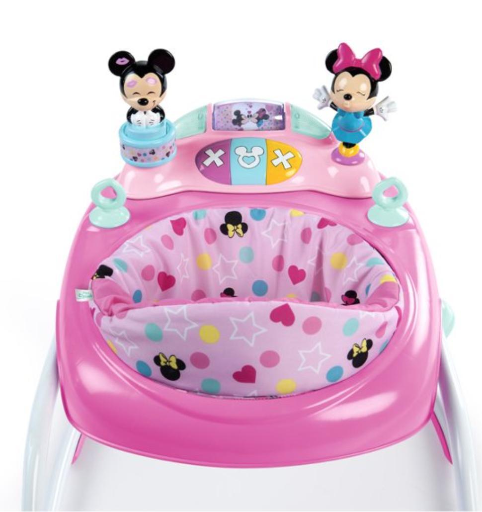 Disney Minnie Mouse Baby Walker Bouncer Jumper Activity