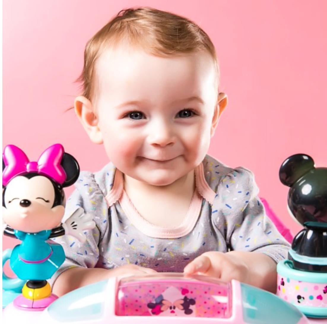 Disney Girl Mouse Jumper Activity
