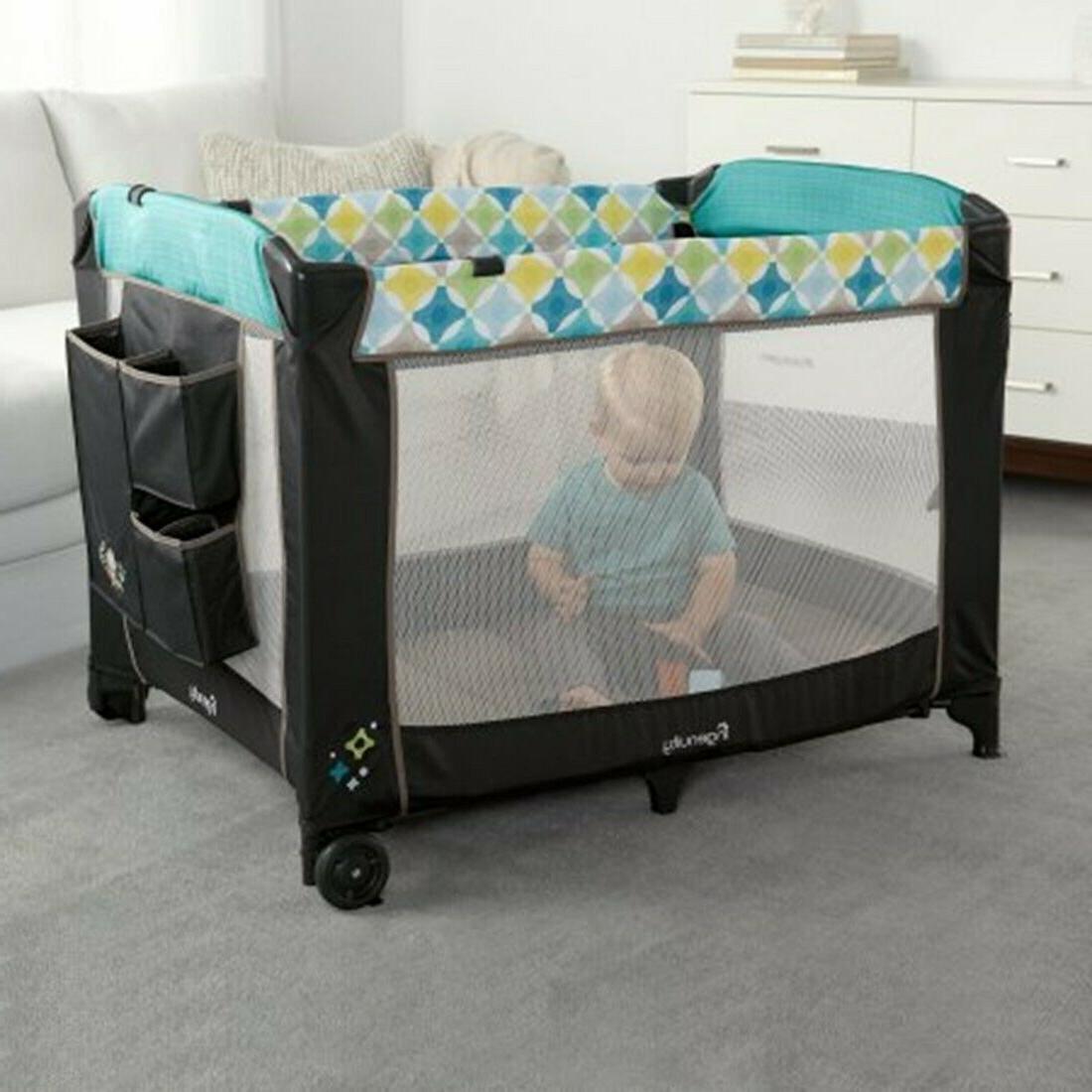 Baby Playard Crib Infant Automatic set Ingenuity