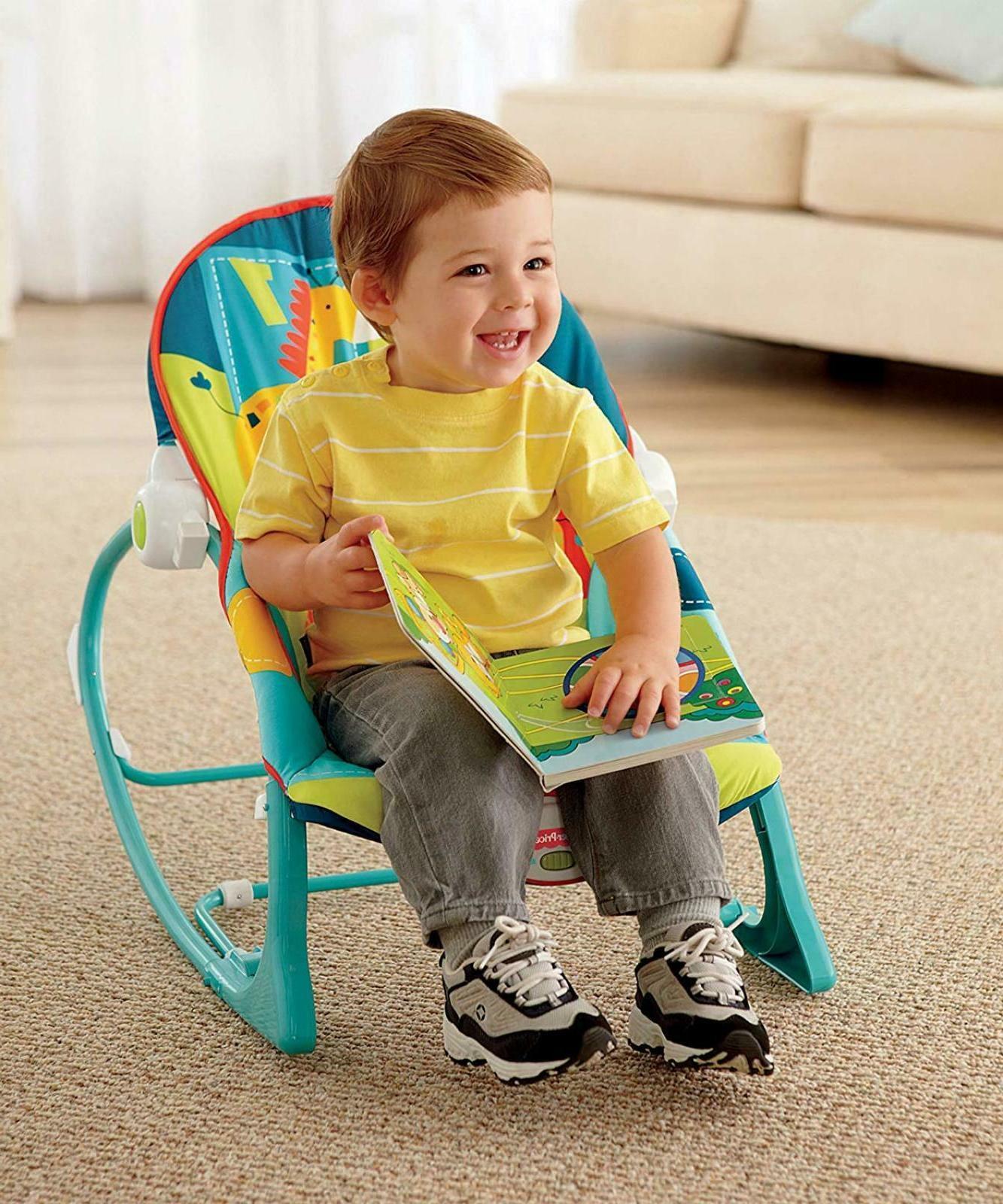 Baby Rocker Infant Toddler Rocking Swing Boy Girl