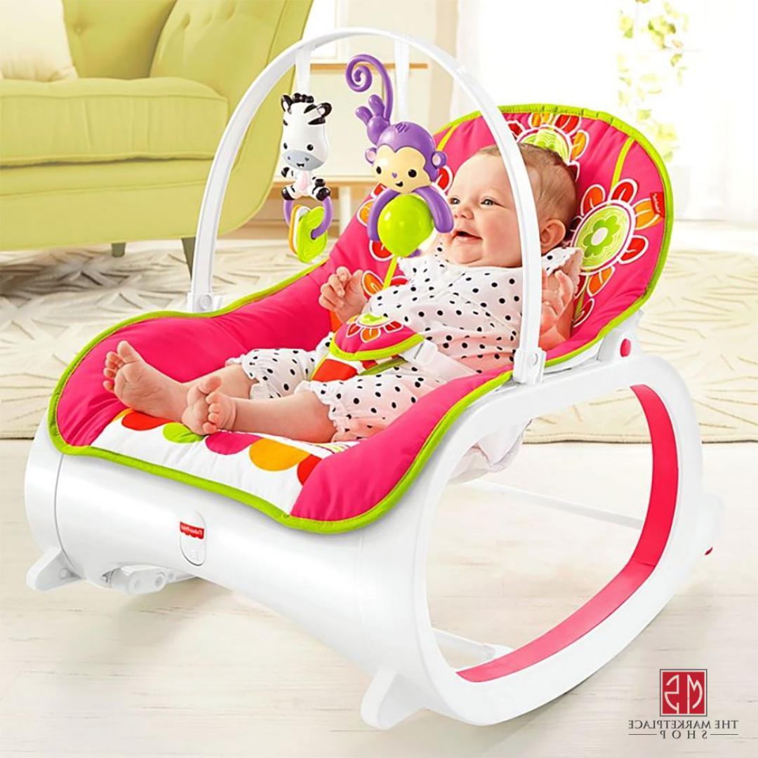 BABY ROCKER Toddler Newborn Swing Seat Bouncer Sle