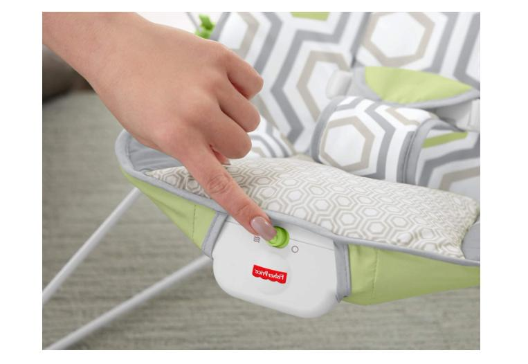 BABY'S BOUNCER GEO WITH REMOVABLE TOY