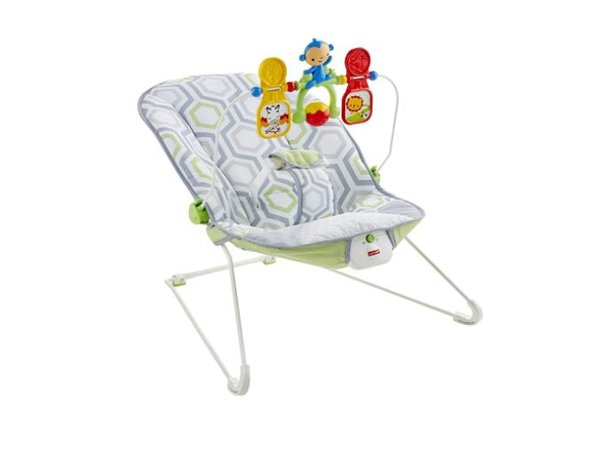BABY'S BOUNCER MEADOW WITH BOUNCY TOY BAR,