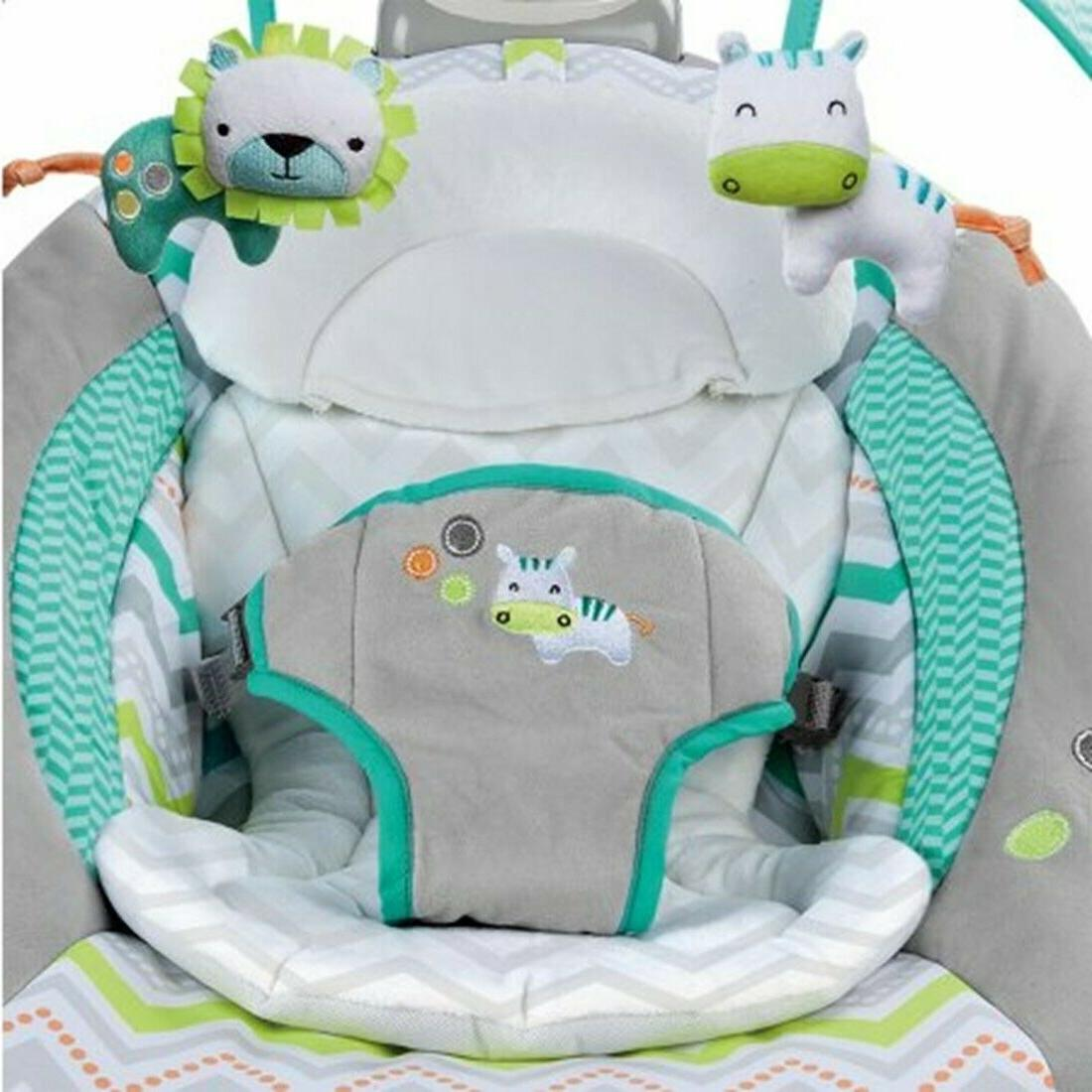 Baby Playard Crib Infant Automatic Bouncer set