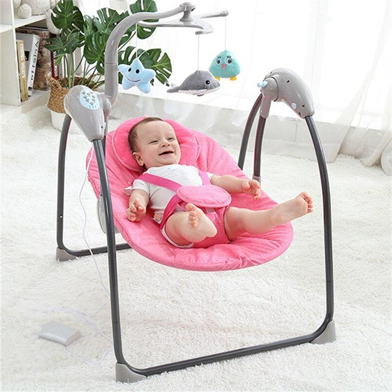 Baby Electric Baby <font><b>Rocking</b></font> <font><b>Chair</b></font> Remote Control Baby