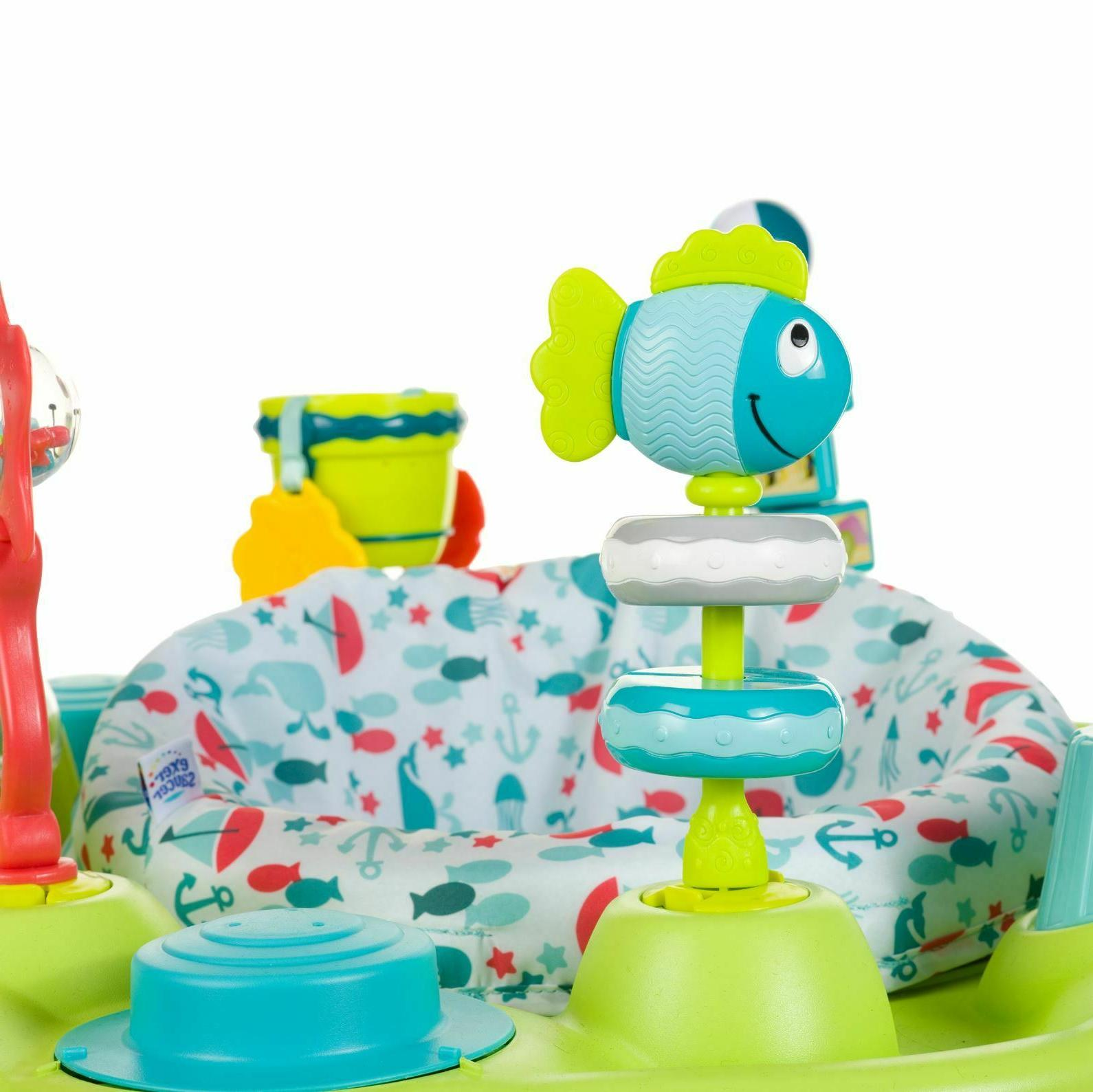 Baby ExerSaucer Center Babies Learn Entertain