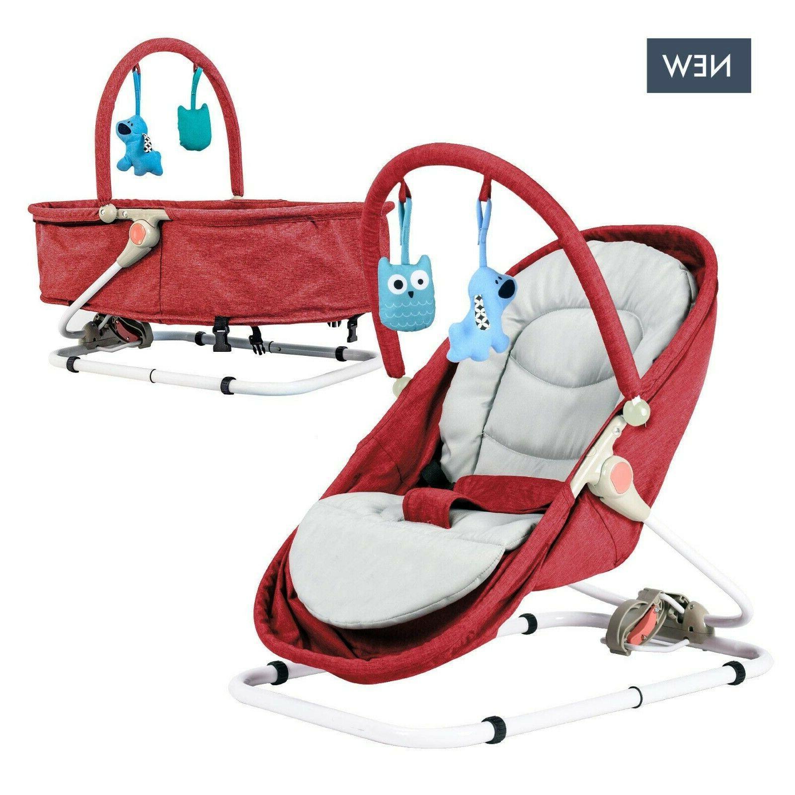bouncer 2 in 1 cradle bed