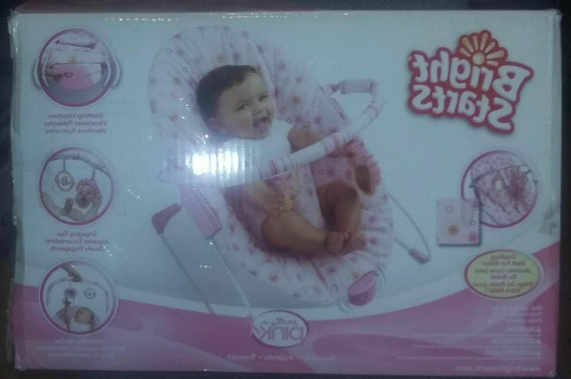 bouncer pretty in pink bouncy seat