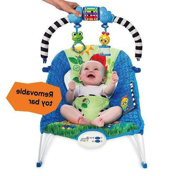 Baby Einstein Bouncer Symphony Comforted Washable to Month