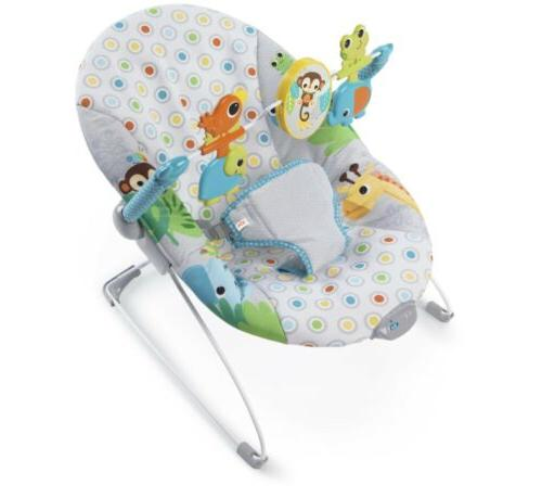 bright stars monkey business baby bouncer seat