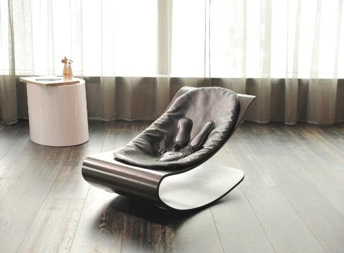 Bloom Baby Lounger Seat Pad, Cappuccino Midnight