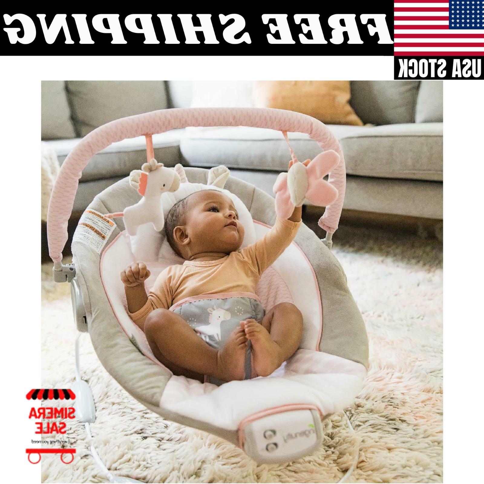 Cradling - - Ultra-Plush Infant Vibration Chair
