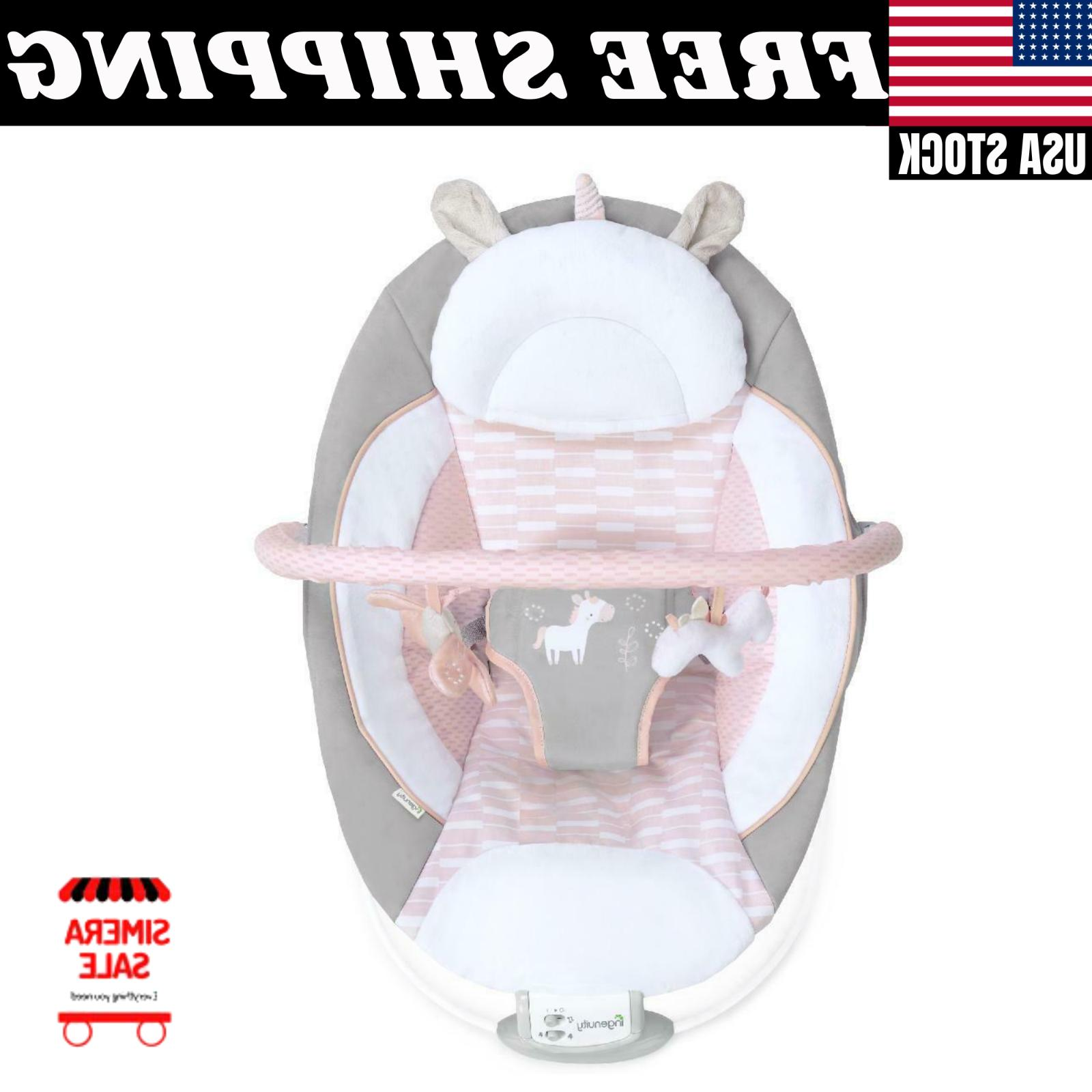 Cradling Bouncer - - Ultra-Plush Seat Baby Infant Vibration Chair