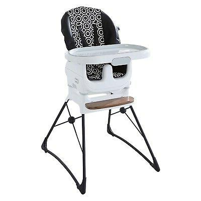 crafted deluxe chair white black
