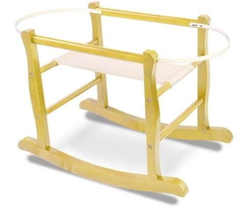 deluxe moses basket rocking stand