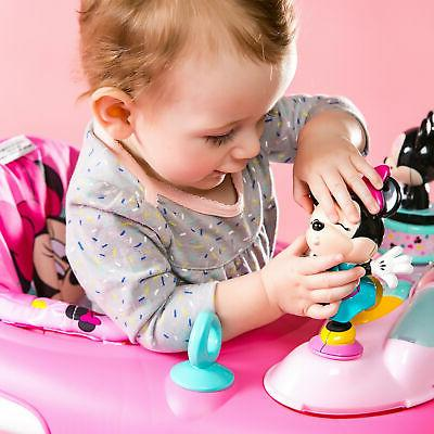 Disney Baby Girl Mouse Walker Bouncer Jumper with Station