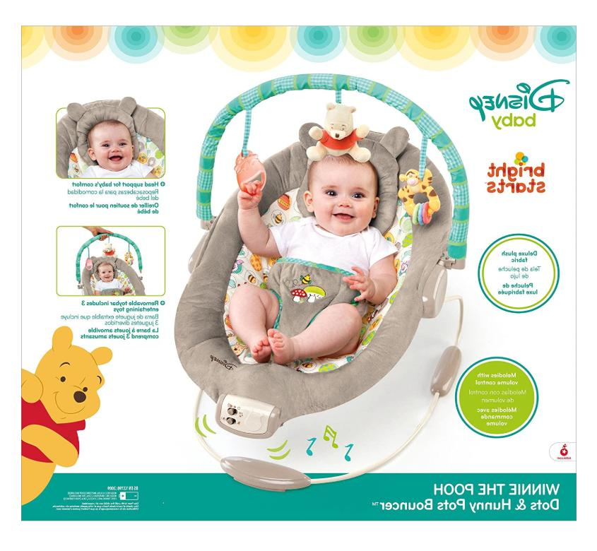 Disney Winnie The Pooh Bouncer Dots and