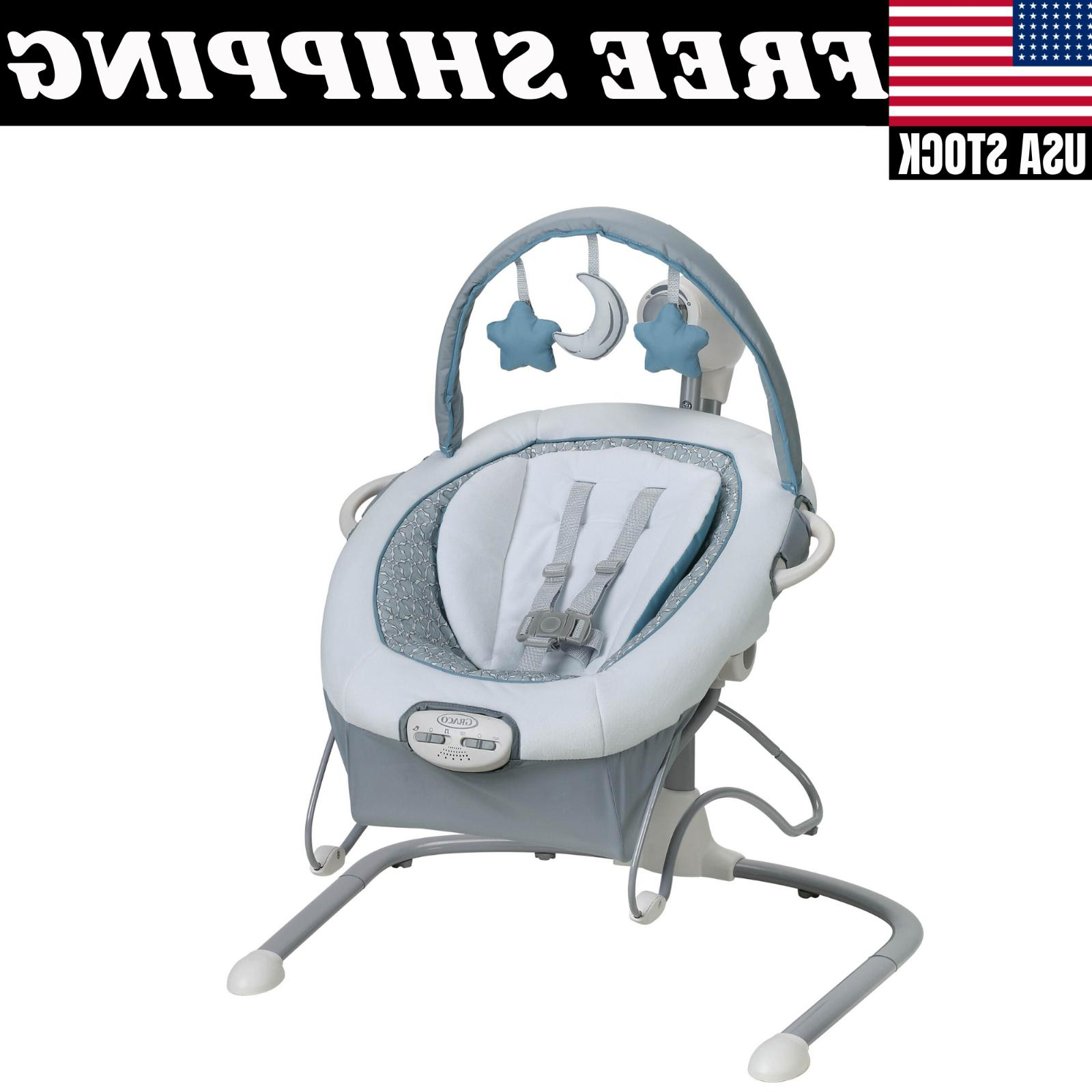 duet sway lx baby swing portable bouncer
