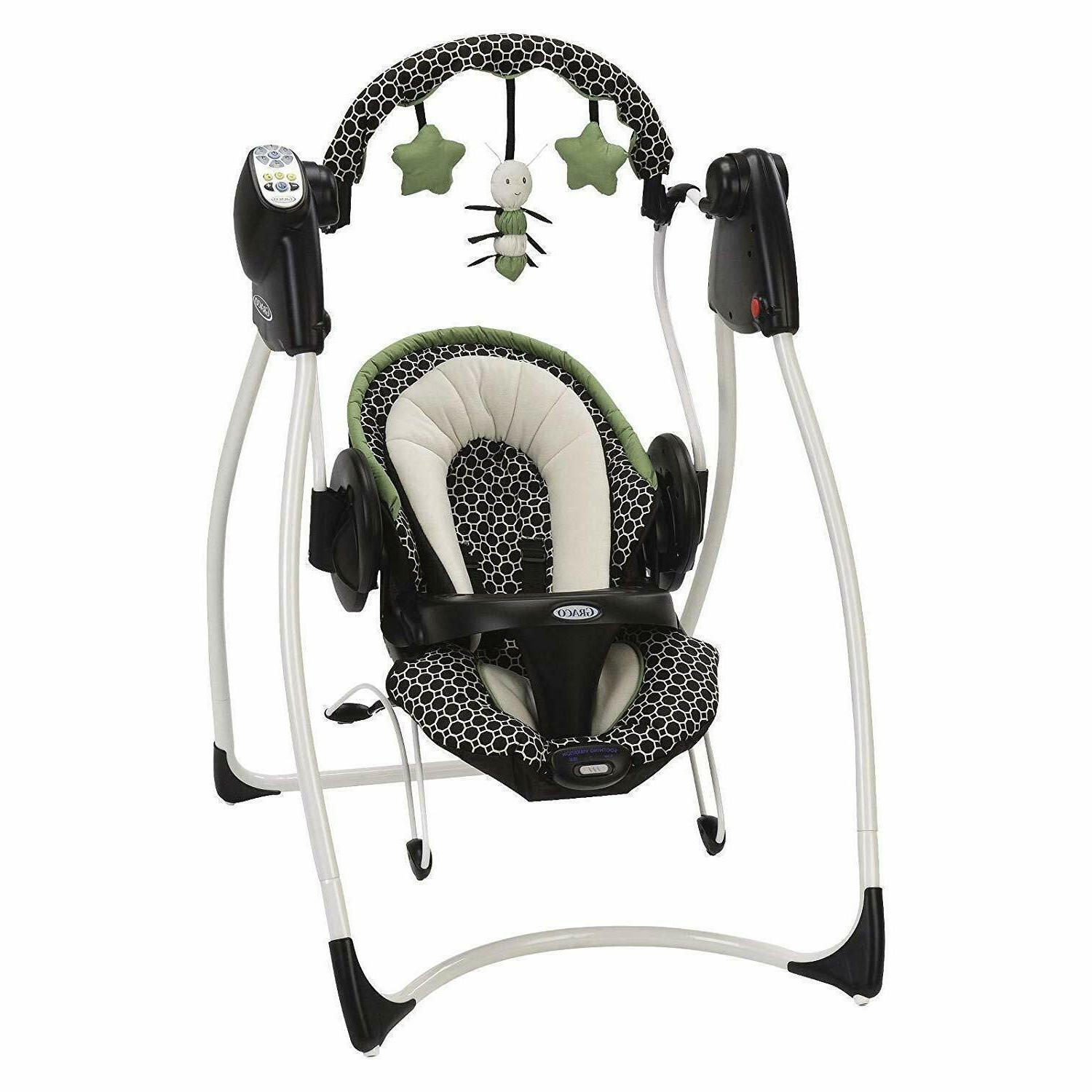 duo 2 in 1 swing and bouncer