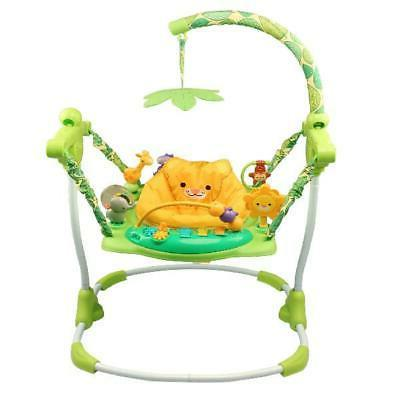 Easy to Assemble Baby Jumper 10 Activity Play Toy Comfortabl