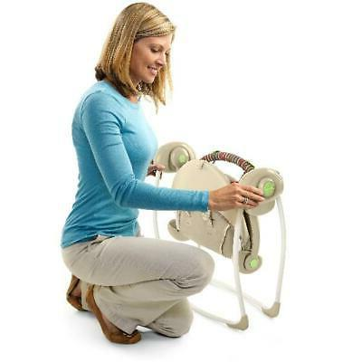 Infant Portable Seat Sway Chair New