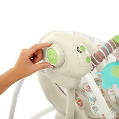 Electric Rocker Baby Infant Portable Cradle Seat