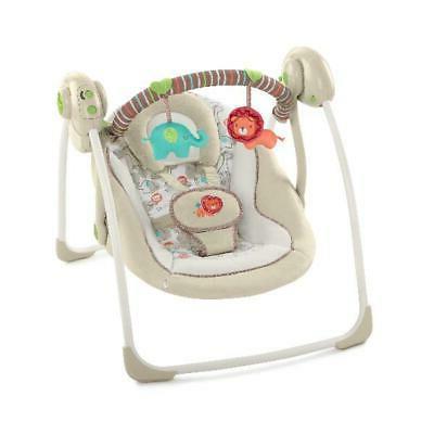 electric rocker baby swing infant portable cradle