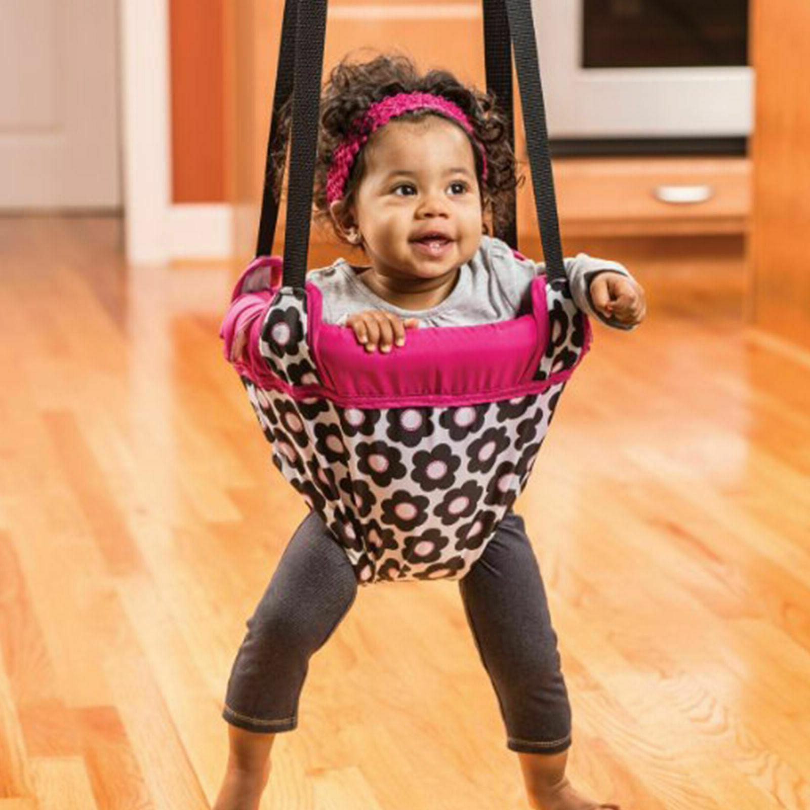 Evenflo Baby Active Jumper Bouncer Pink Flowers Mths+