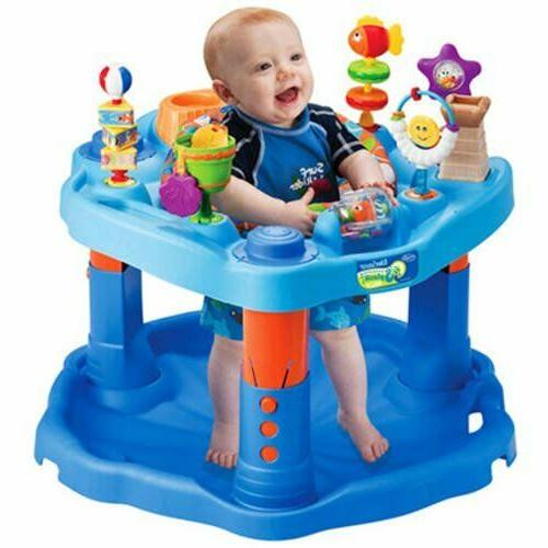 exersaucer baby activity center mega splash toy