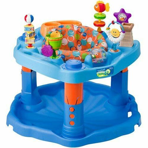 Evenflo ExerSaucer Center Splash Learning Spinning