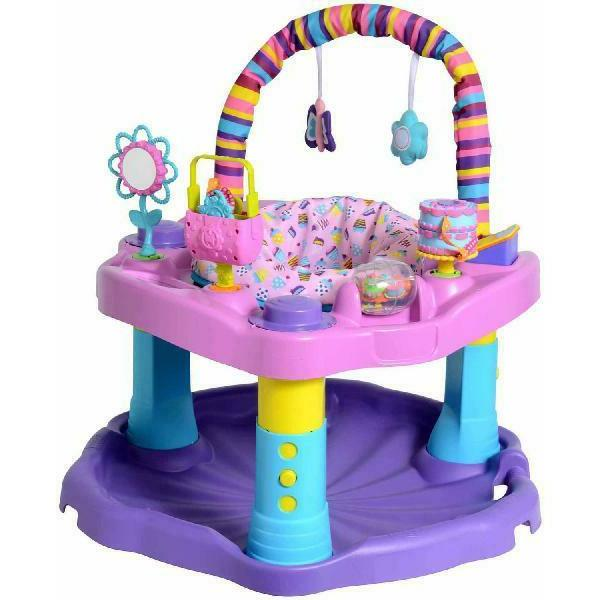 Baby Bouncer Activity Center Exersaucer Evenflo Bounce and L