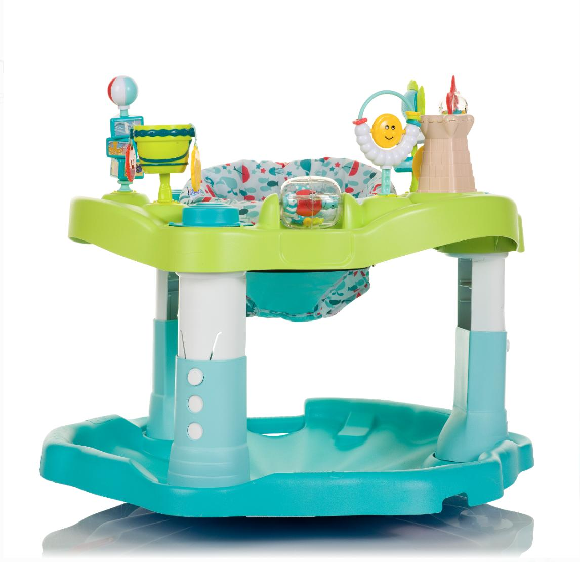 Evenflo Exersaucer Mega Splash Unique Rocking