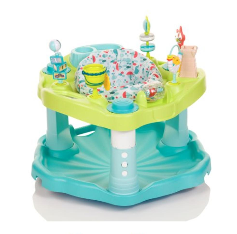 Evenflo Exersaucer Splash Rocking
