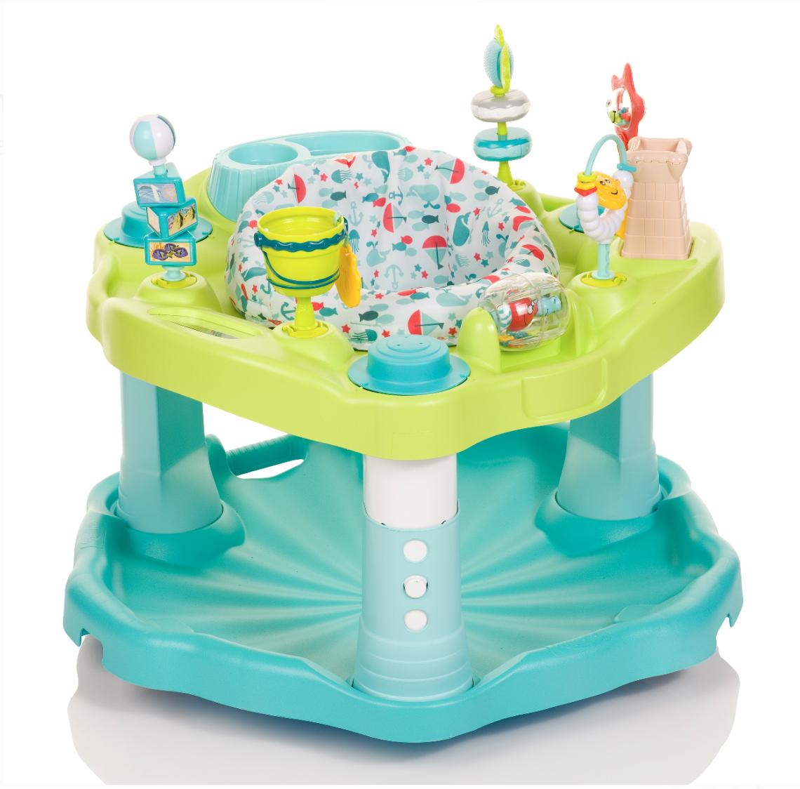 Evenflo Exersaucer Seaside Splash Unique