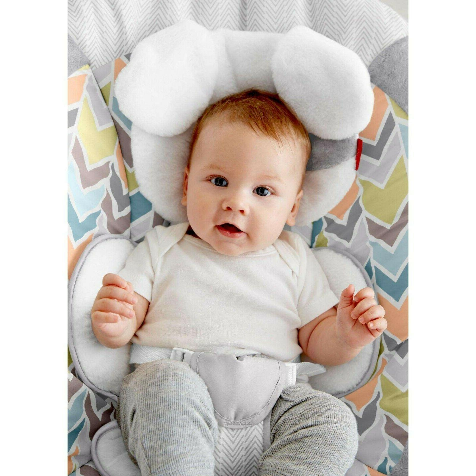 Fisher- My Little Snugapuppy Deluxe Bouncer White 887961354348