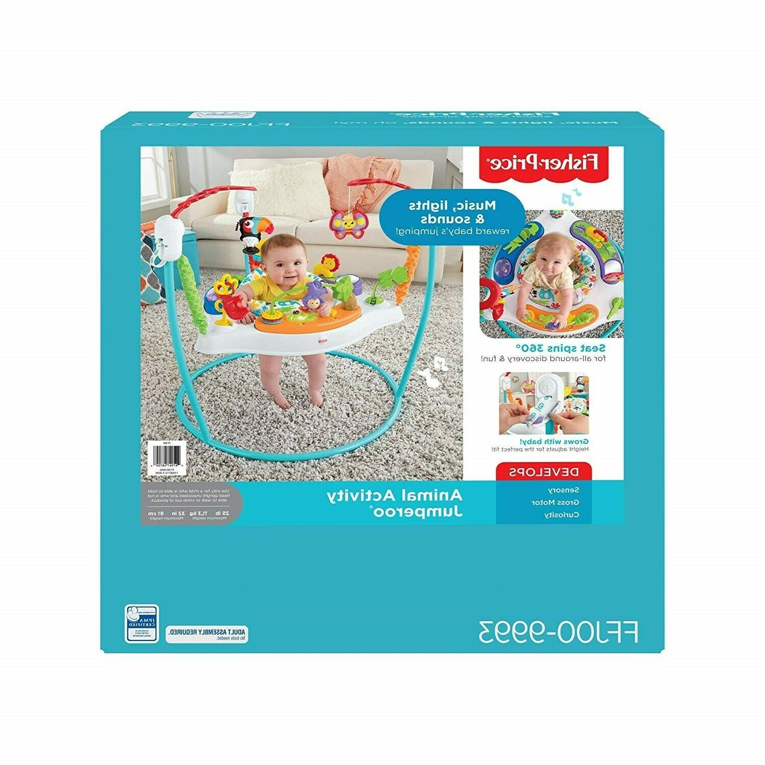 Fisher-Price Activity Baby Bouncer - ** FAST SHIPPING