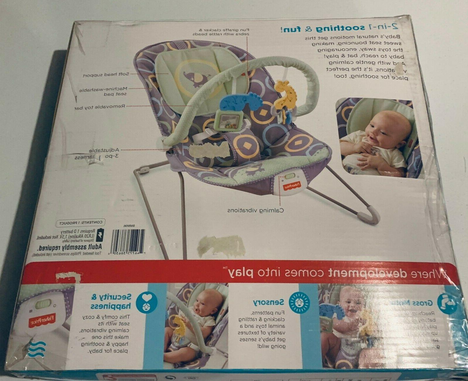 Fisher Price Bouncer Luminosity Portable Infant