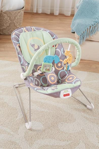 Fisher Price Bouncer Luminosity Comfortable Infant